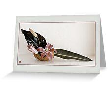 Ikebana-098 Greeting Card Greeting Card