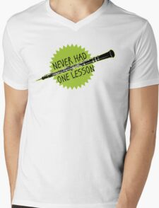 Ferris Bueller never had one lesson Mens V-Neck T-Shirt