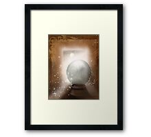 Charging by Moonlight Framed Print