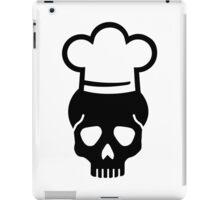 Skull chefs hat iPad Case/Skin