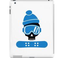 Snowboard skull iPad Case/Skin