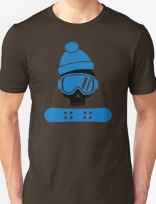 Snowboard skull Unisex T-Shirt