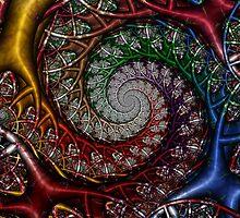 Technicolor Jungle I by Ross Hilbert