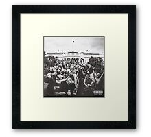 To Pimp A Butterfly - Borderless (Best Quality, Cheap) Framed Print