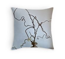 Ikebana-105 Throw Pillow