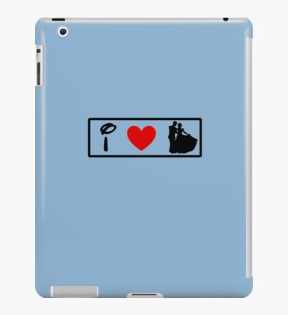 I Heart Happily Ever After (Classic Logo) iPad Case/Skin