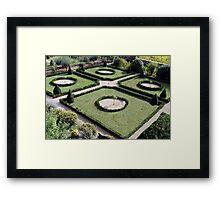 Garden Scape Framed Print
