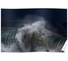 Winter Waves At Pipeline 7 Poster