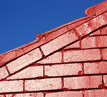 Red brick, blue sky by Stephen Denham