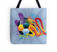 Soccer Ball with Brush Strokes 2 Tote Bag
