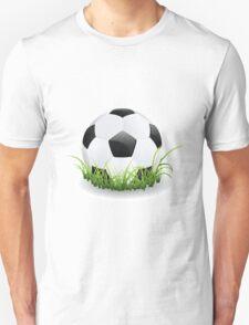 Soccer Ball with Grass T-Shirt
