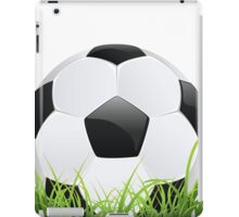 Soccer Ball with Grass iPad Case/Skin