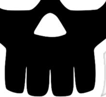Skull bones Sticker