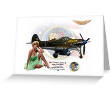 Wahl Eye / Pat - P-400 Airacobra Greeting Card