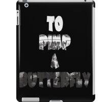 Kendrick Lamar To Pimp A Butterfly iPad Case/Skin