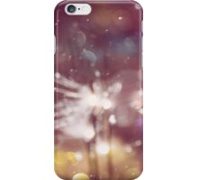 Sparkler and Colorful Bokeh 2 iPhone Case/Skin
