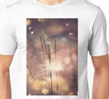 Sparkler and Colorful Bokeh 4 Unisex T-Shirt