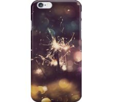 Sparkler and Colorful Bokeh 5 iPhone Case/Skin