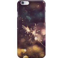 Sparkler and Colorful Bokeh 6 iPhone Case/Skin