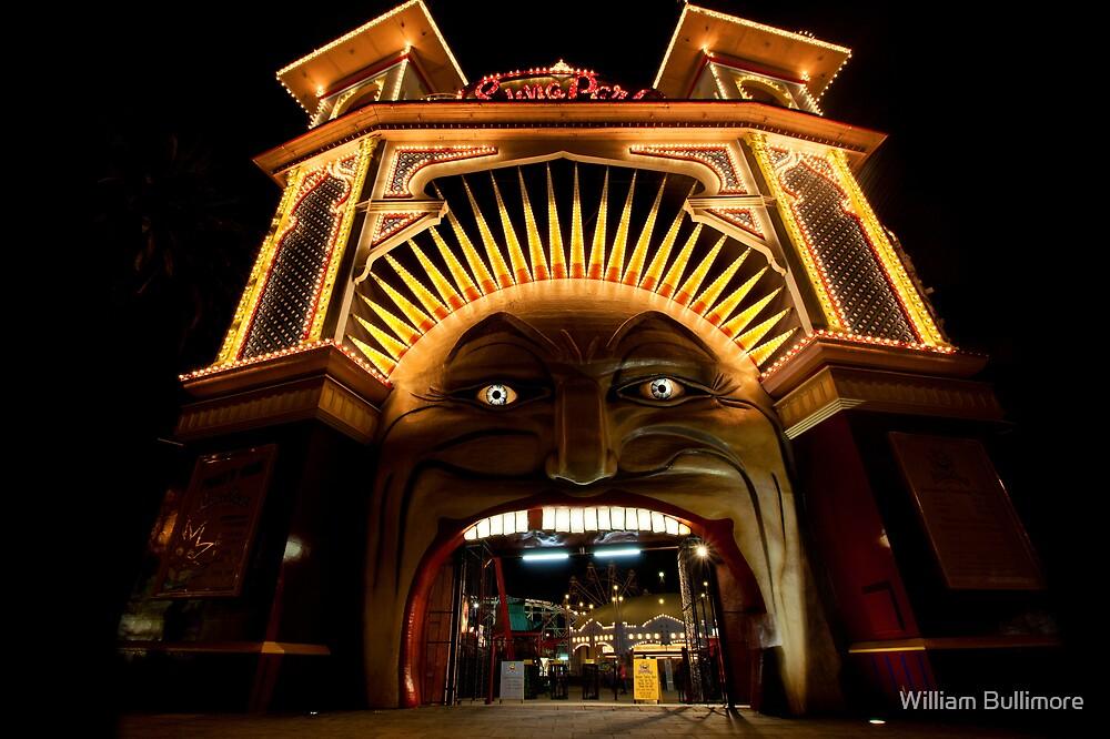Luna Park • St Kilda • Melbourne by William Bullimore