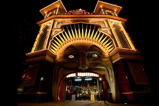 Luna Park • St Kilda • Melbourne by William Bullimore