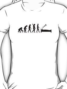 Evolution sleeping T-Shirt