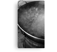 Vat of Boiling Meat Canvas Print