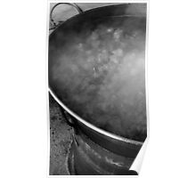 Vat of Boiling Meat Poster