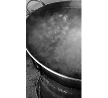 Vat of Boiling Meat Photographic Print