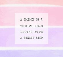 Journey Quote by PatiDesigns