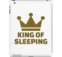 King of sleeping iPad Case/Skin