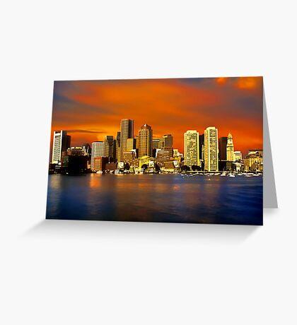 Boston Greeting Card