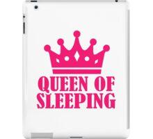 Queen of sleeping iPad Case/Skin