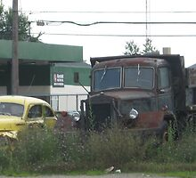 Retired Trucks by Kinniska