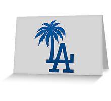 LA Palm Trees Greeting Card