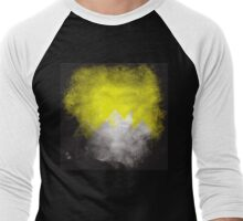 Yellow Twin Peaks Men's Baseball ¾ T-Shirt