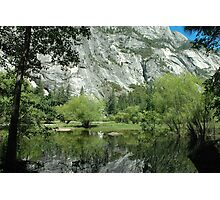 Spring Reflections, Mirror Lake Photographic Print