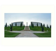 The Armed Forces Memorial Art Print