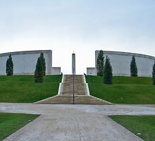 The Armed Forces Memorial by Eugene Francis Cummings
