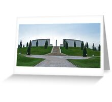 The Armed Forces Memorial Greeting Card