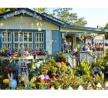 Easter Cottage Photographic Print
