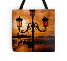 VENICE ON FIRE Tote Bag