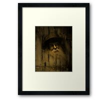 """""""What thoughts I have of you tonight, Walt Whitman..."""" Framed Print"""