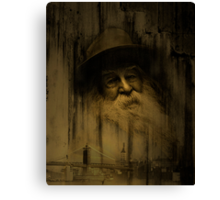 """What thoughts I have of you tonight, Walt Whitman..."" Canvas Print"