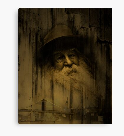 """""""What thoughts I have of you tonight, Walt Whitman..."""" Canvas Print"""