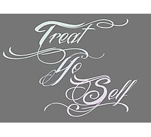 Treat Yo Self Pastels Photographic Print