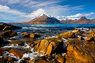 The Cuillins from Elgol, Isle of Skye, Scotland. by photosecosse /barbara jones