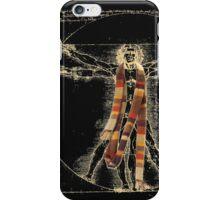 Da Vinci Meets the Doctor (Dark colors) iPhone Case/Skin