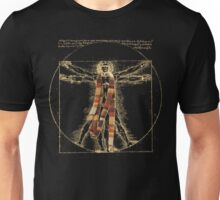 Da Vinci Meets the Doctor (Dark colors) Unisex T-Shirt