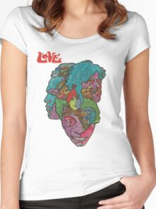 Love - Forever Changes Women's Fitted Scoop T-Shirt